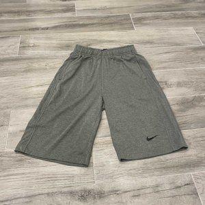 Boys Nike Grey Shorts Size Large